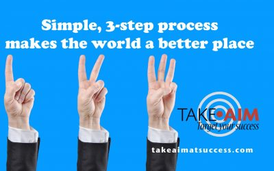 3-Step Process to Make the World a Better Place